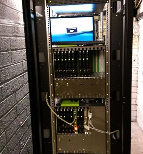 One of the Unify X8 installations at ODR.